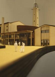 Ontwerp voor de Goede Herderkerk in Rotterdam